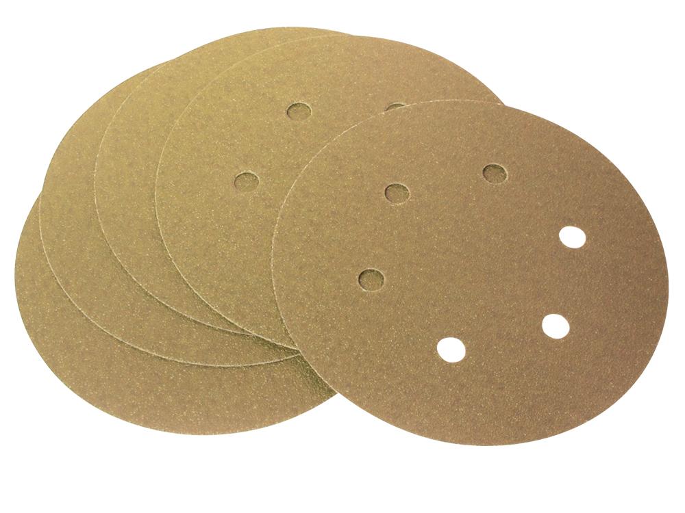 Velcro schuurpapier 'drywall', diam. 225 mm, korrel K240 (prijs per 25 st.)