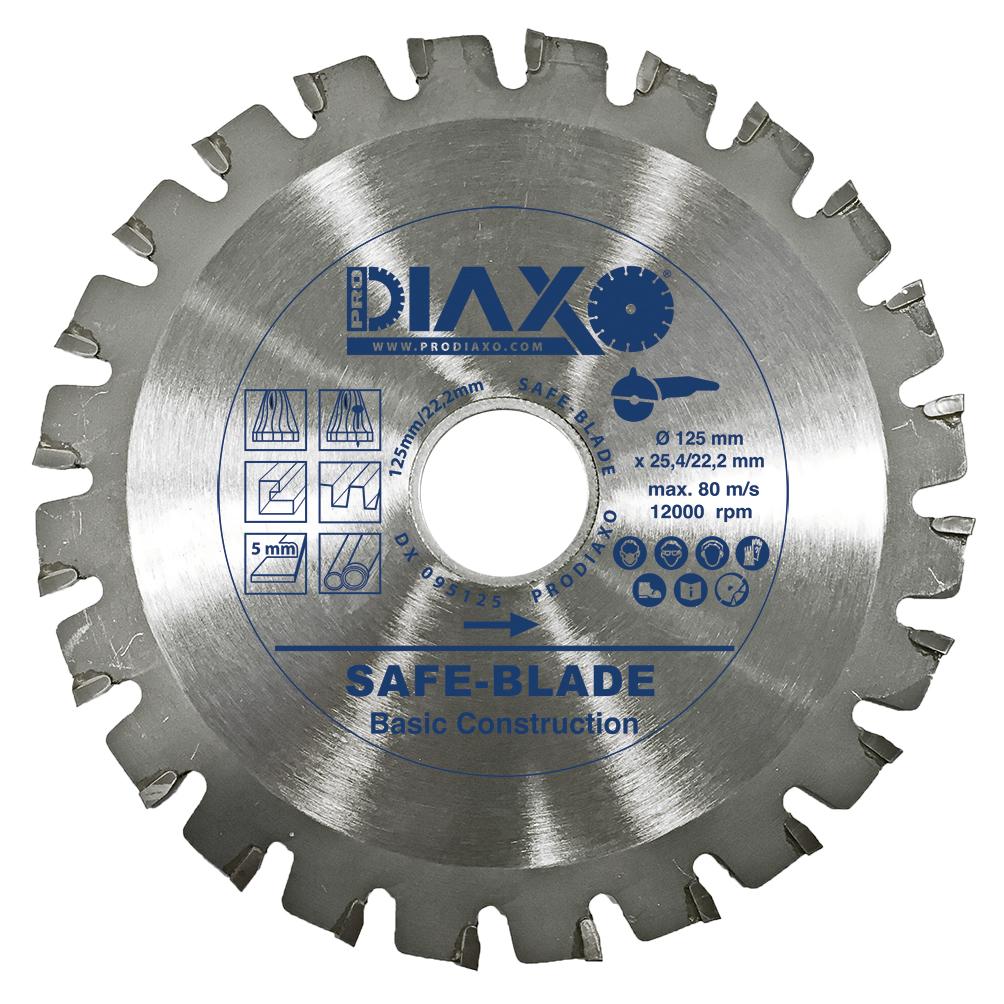 "Zaagblad ""SAFE-BLADE"" voor hout - Basic Construction"