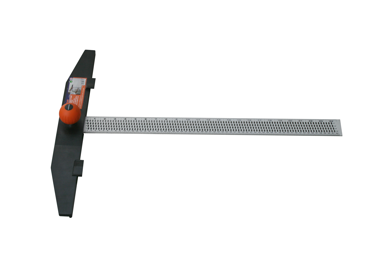 snijregel voor gipsplaten max 62 cm
