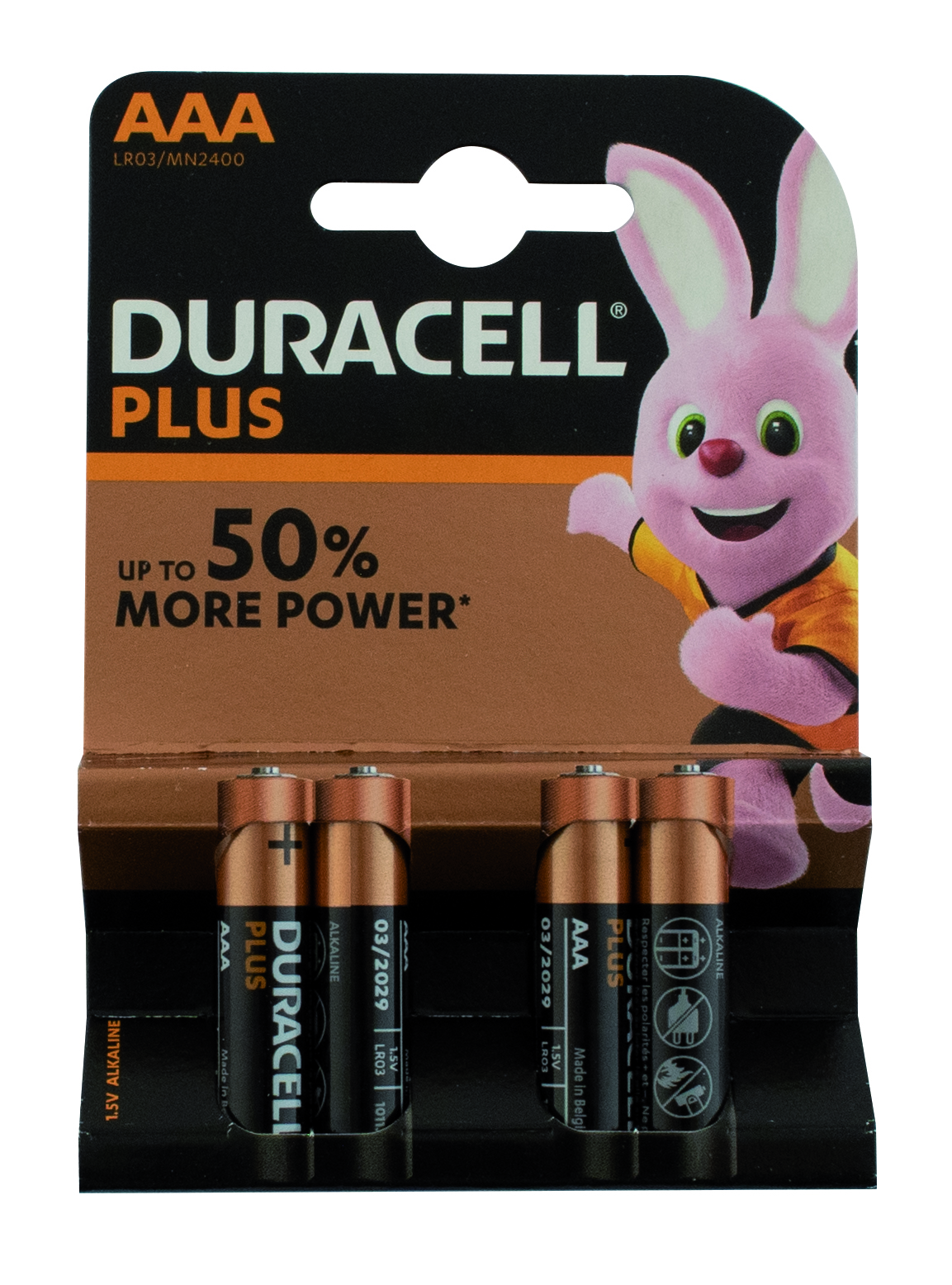 "Batterij Duracell ""Plus Power""- type AAA / LR03"