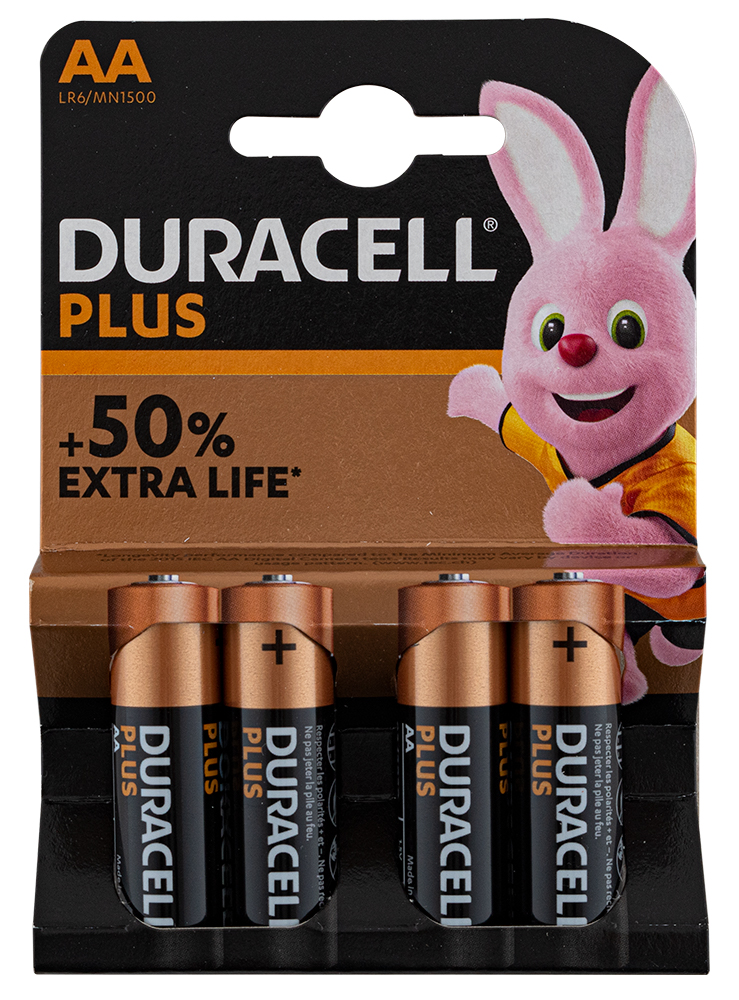 "Batterij Duracell ""Plus Power""- type AA / LR6"